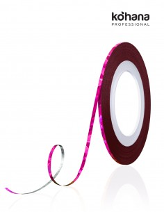 Kohana Striping Tape - Holo Rose Red