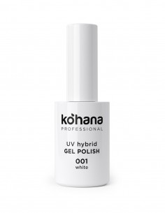 Kohana 001 White Gel Polish 10ml