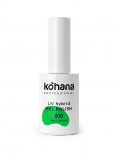 010 Neon Green Gel Polish 10ml