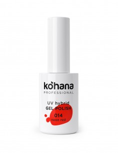 Kohana 014 Neon Red Gel Polish 10ml
