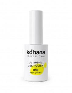 Kohana 016 Neon Yellow Gel Polish 10ml