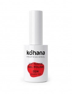 Kohana 024 Poppy Red Gel Polish 10ml