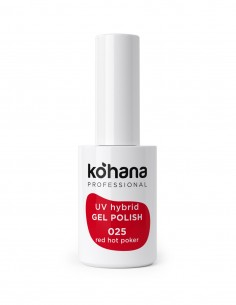Kohana 025 Hot Red Poker Gel Polish 10ml