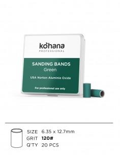 Sanding Bands Green Grit 120 - 20pcs
