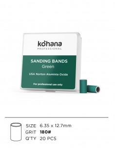 Sanding Bands Green Grit 180 - 20pcs